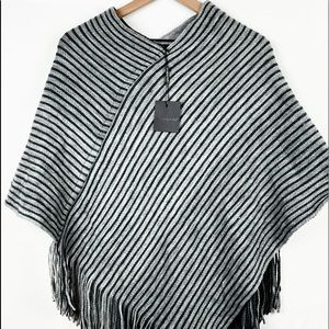 Do Everything In Love Reversible Poncho. One Size